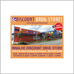 innaloo discount drug store ASB Marketing supporting Jetty to Jetty Coogee Ocean Swim